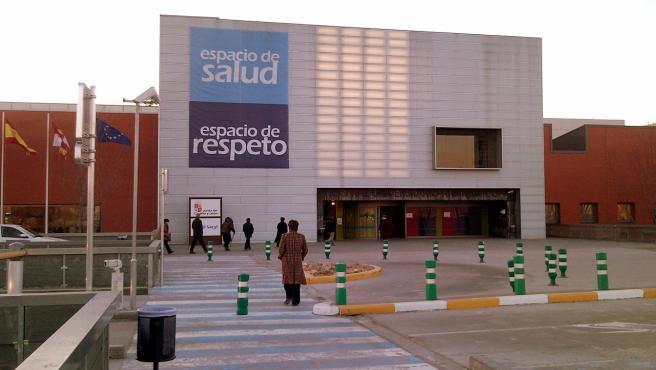 Entrada del Hospital Universitario Río Hortega, en Valladolid, en una imagen de archivo.