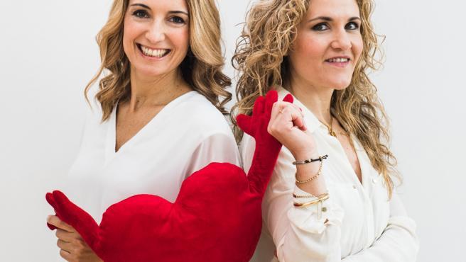 Las psicólogas Patricia Ramírez y Silvia Congost