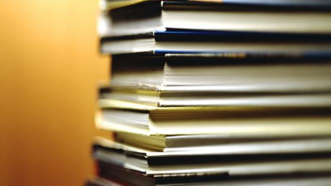 Torre de libros.