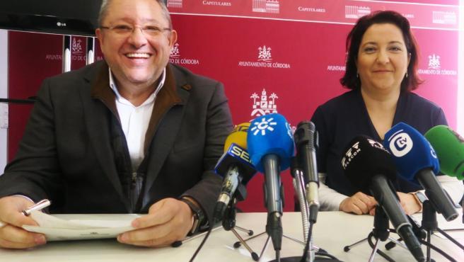 Manuel Torralbo y Alicia Moya.