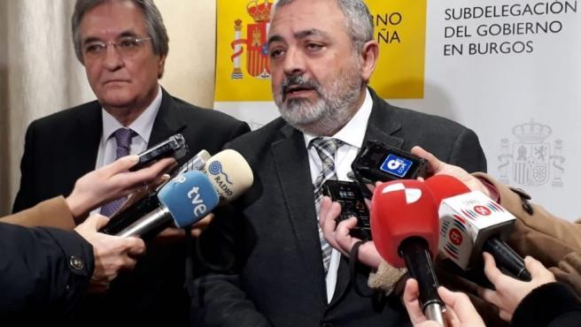 Pedro L. De la Fuente preside la reunión del Plan de Emergencia Exterior a la central nuclear de Santa Mª de Garoña.