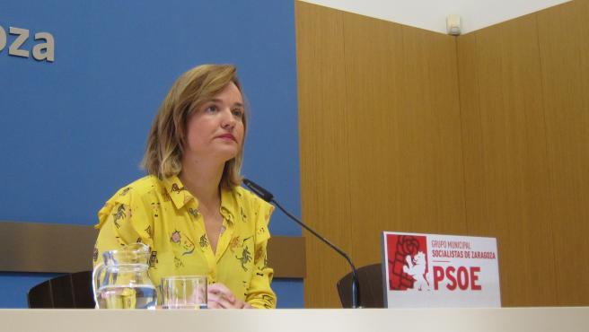 Pilar Alegría, nueva delegada del Gobierno de España en Aragón.