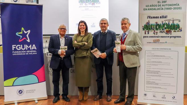 Presentación ciclo sobre los 40 años de autonomía andaluza