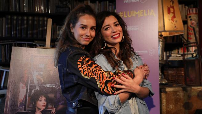 Protagonistas de #Luimelia.