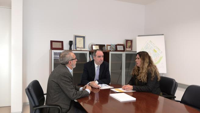 Reunión de los concejales con Jaime Bretón