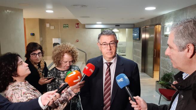 El presidente de la CHS, Mario Urrea