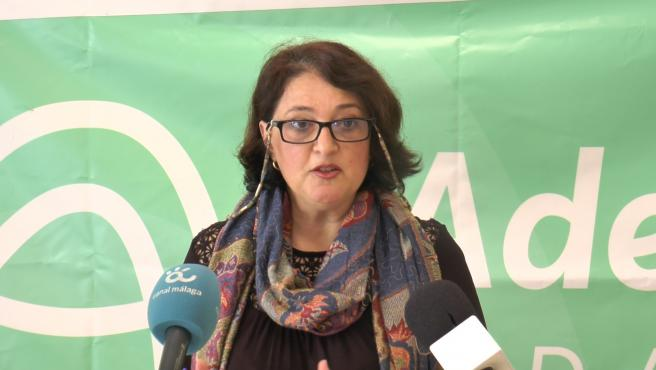 La diputada provincial de Adelante Málaga Maribel González