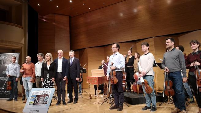 Presentación del cupón de la Orquesta Barroca de Sevilla