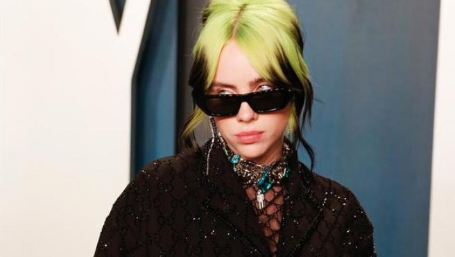 Billie Eilish, en la fiesta de Vanity Fair tras la ceremonia de los Oscar 2020, en Beverly Hills, California (EE UU).