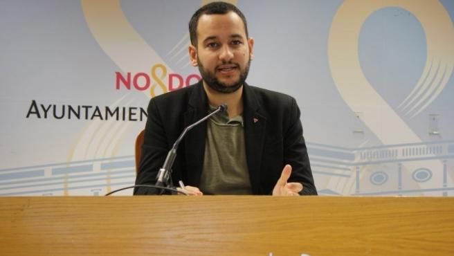 El concejal de Adelante Sevilla Daniel González Rojas