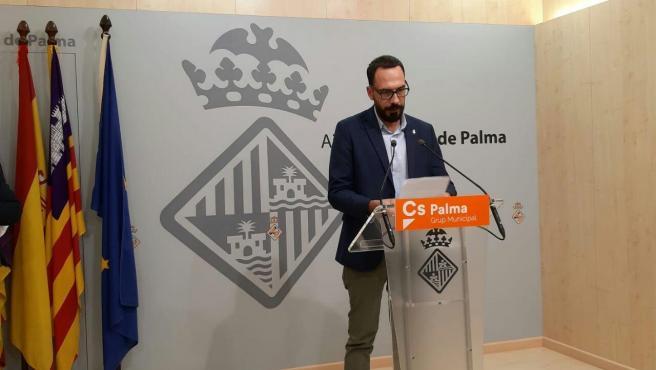 El diputado de Cs Palma Alejandro Escriche