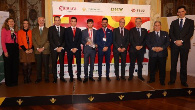 El equipo JEM, campeón de Aragón de la Global Management Challenge de la Cámara de Comercio