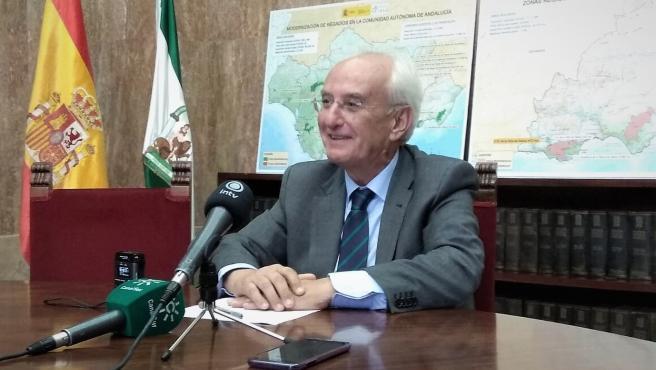 El subdelegado de Gobierno en Almería, Manuel de la Fuente