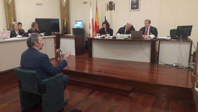 Fernando Urruticoechea, interventor de Castro de 2001 a 2006, declara como perito en el jucio de La Loma