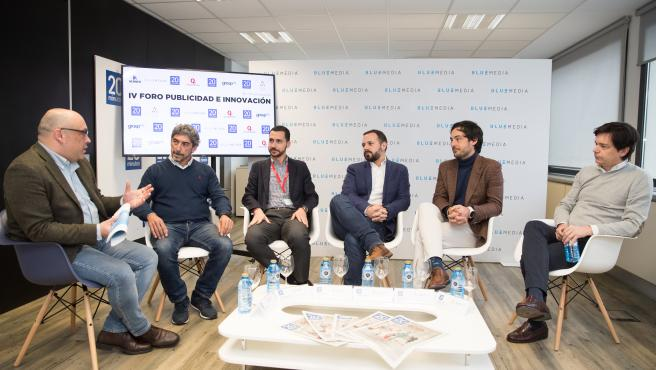 Representantes de agencias, soluciones tecnológicas, medios y marcas debaten sobre el futuro del sector en el IV Foro de la Publicidad y la Innovación de 20Minutos y BlueMedia.