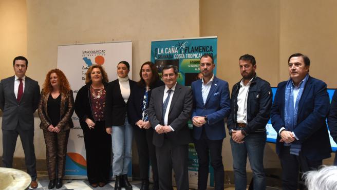 Imagen de la presentación del festival 'La Caña Flamenca'