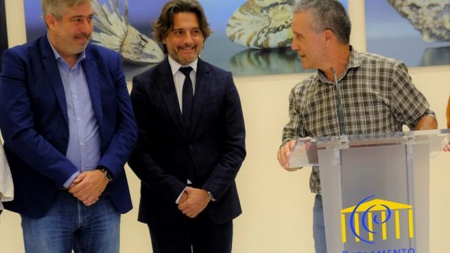 Inauguración de la exposición 'Semillas' en el Parlamento de Canarias