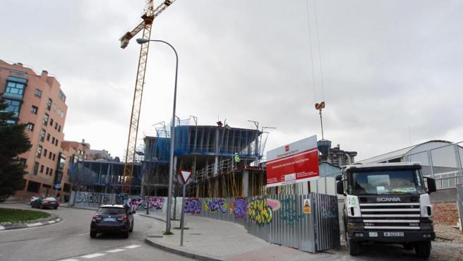 Nuevo centro de salud en la avenida Camilo José Cela, que sustituirá al de Baviera.