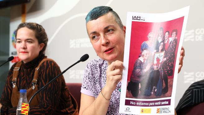 """Presentación de la campaña """"Amor propio"""", promovida por el IAM, con motivo del 14 de febrero"""
