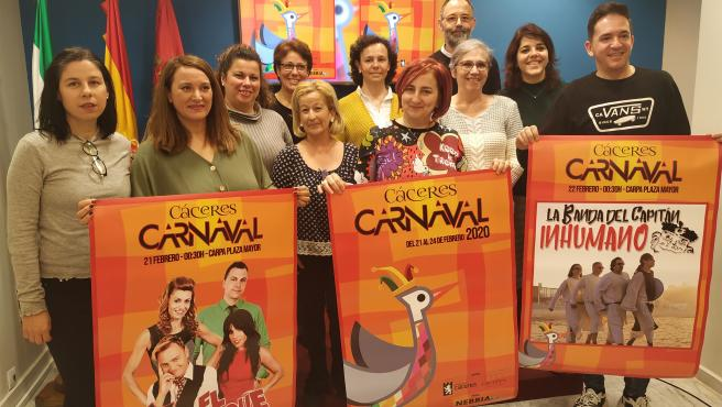 Presentación de la programación del Carnaval de Cáceres