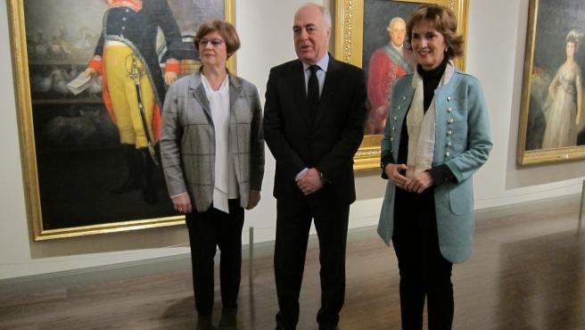 Presentación del programa de mecenazgo 'Amigos del Museo Goya' de Fundación Ibercaja.