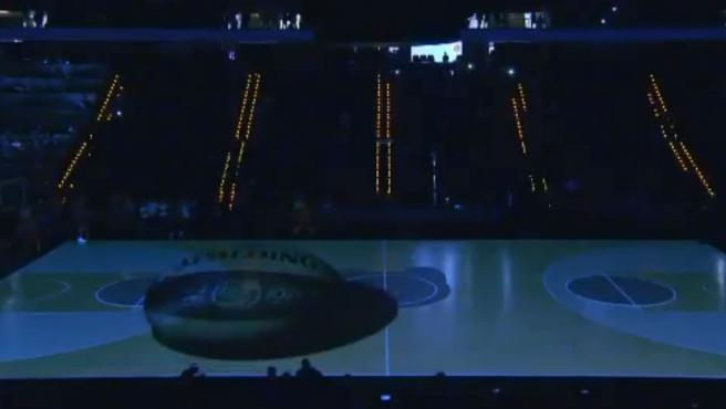 Videomapping para inaugurar la Copa