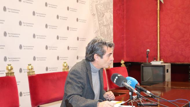 El concejal de Podemos-IU en el Ayuntamiento de Granada, Antonio Cambril