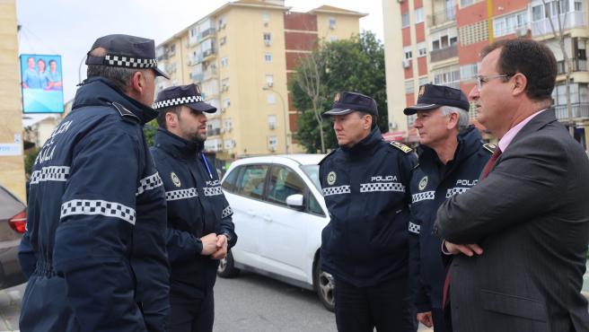 El concejal delegado de Seguridad de Sevilla, Juan Carlos Cabrera (PSOE), en una imagen de archivo