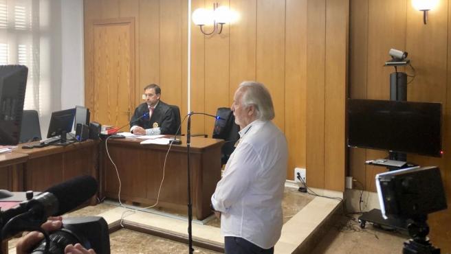 El empresario Bartolomé Cursach declara ante el juzgado.