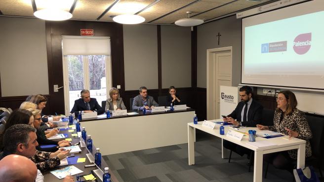 Imagen de la primera reunión en Madrid para posicionar la provincia como espacio para emprender, innovar e invertir.