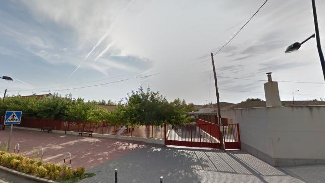 Imagen del colegio Victorio Macho de Burguillos de Toledo en Google Street View
