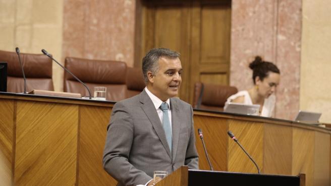 Javier Pareja, parlamentario andaluz de Ciudadanos por Málaga