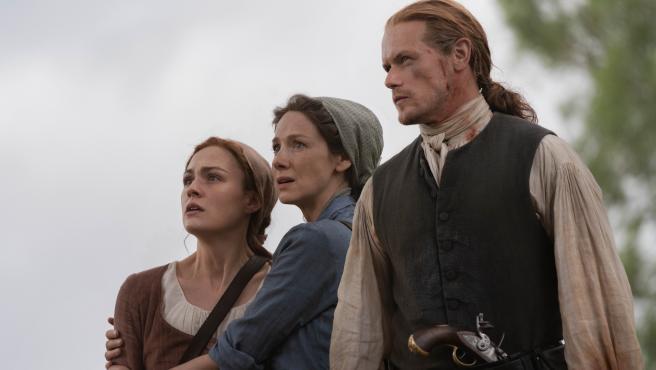 Imagen de la quinta temporada de Outlander.
