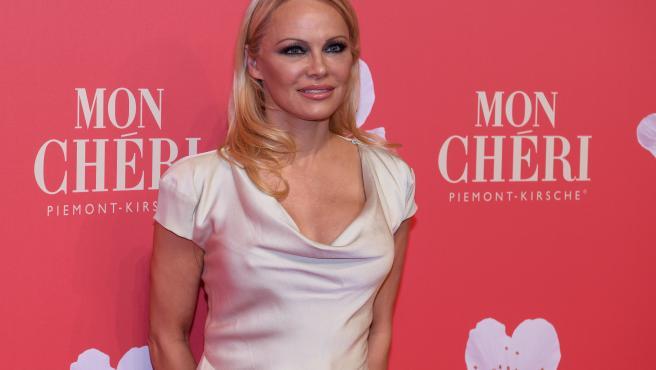 La actriz canadiense Pamela Anderson, en una imagen reciente.