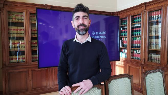 Portavoz Municipal Podemos-Equo, Guillermo San Juan.
