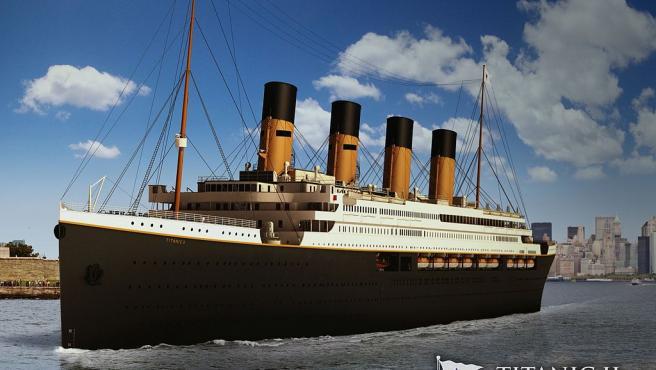 Este aspecto tendrá el Titanic II.
