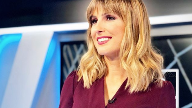 Danae Boronat, presentadora de Movistar.