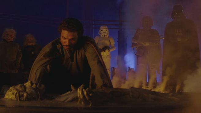 """Harrison Ford confunde """"carbonita"""" con """"kriptonita"""" porque él solo trabaja aquí"""