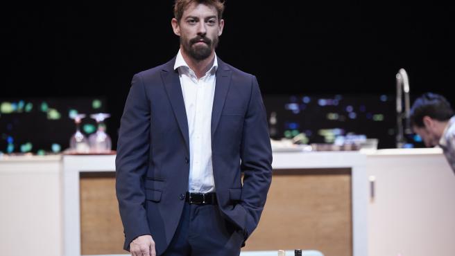 El actor Adrián Lastra, en un estreno de cine.