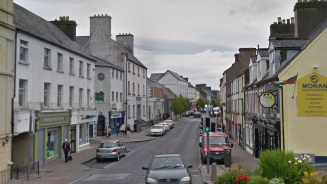 Imagen de Market Street, la calle principal de Castlebar.