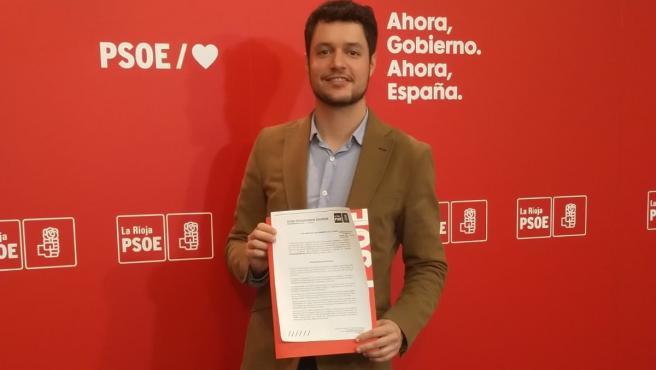 El portavoz del Grupo Parlamentario socialista, Raúl Díaz, ha realizado una valoración desde el PSOE de la Rioja sobre el intento político de escisión en el seno de la Denominación de Origen Rioja por parte de ABRA.