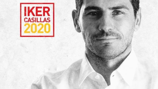El portero internacional Íker Casillas anuncia que se presentará a las elecciones a la presidencia de la RFEF