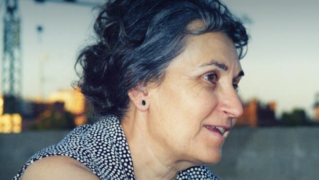 Fotografía de la pintora María Moreno