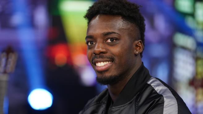 Iñaki Williams, en El Hormiguero.