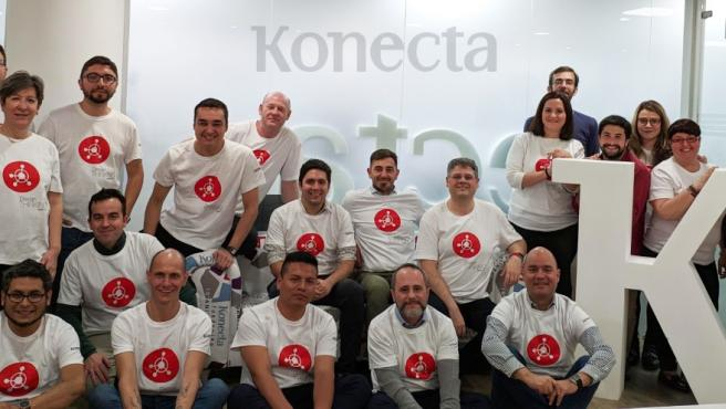 Konecta presenta las novedades de su exitoso KCRM en su primer 'Design thinking'.
