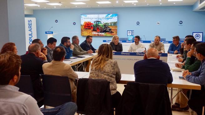 Carmona preside el foro permanente de agricultura y ganadería del PP de Málaga