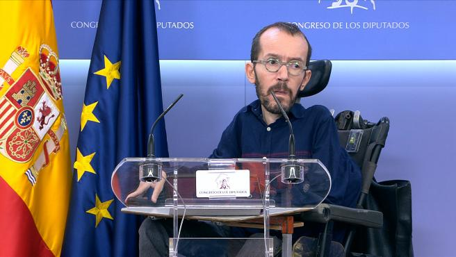 Echenique critica que PP y Cs solo hablen de Venezuela