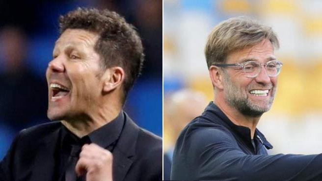 Simeone vs Klopp, un duelo entre dos de los mejores entrenadores del mundo.