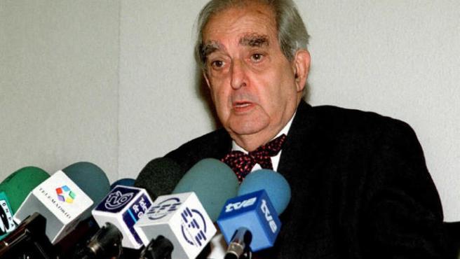 Fernando Morán, en una imagen de 1998.
