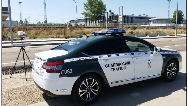 Salamanca.- Radar de la Guardia Civil